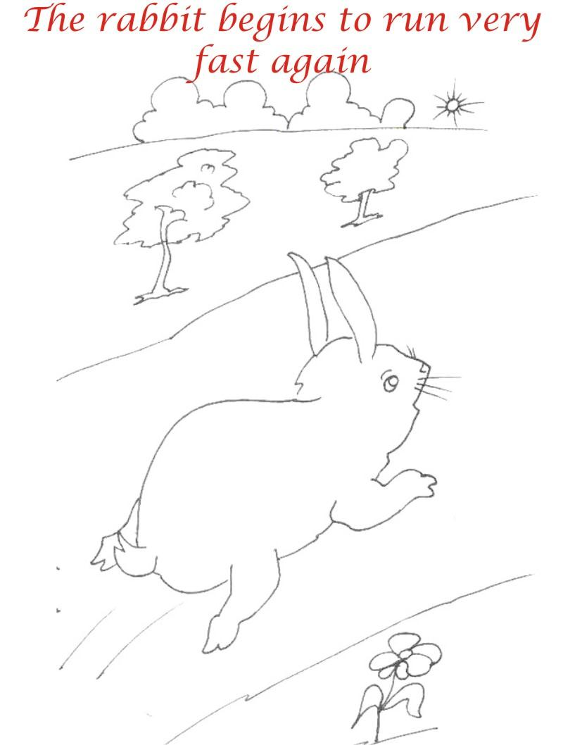 The Racing story coloring page for kids 20