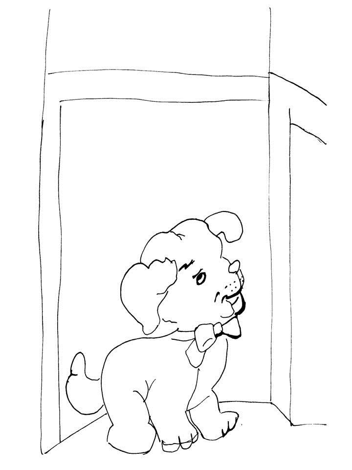 Free Coloring Pages Of Wake Up Sketch Coloring Page