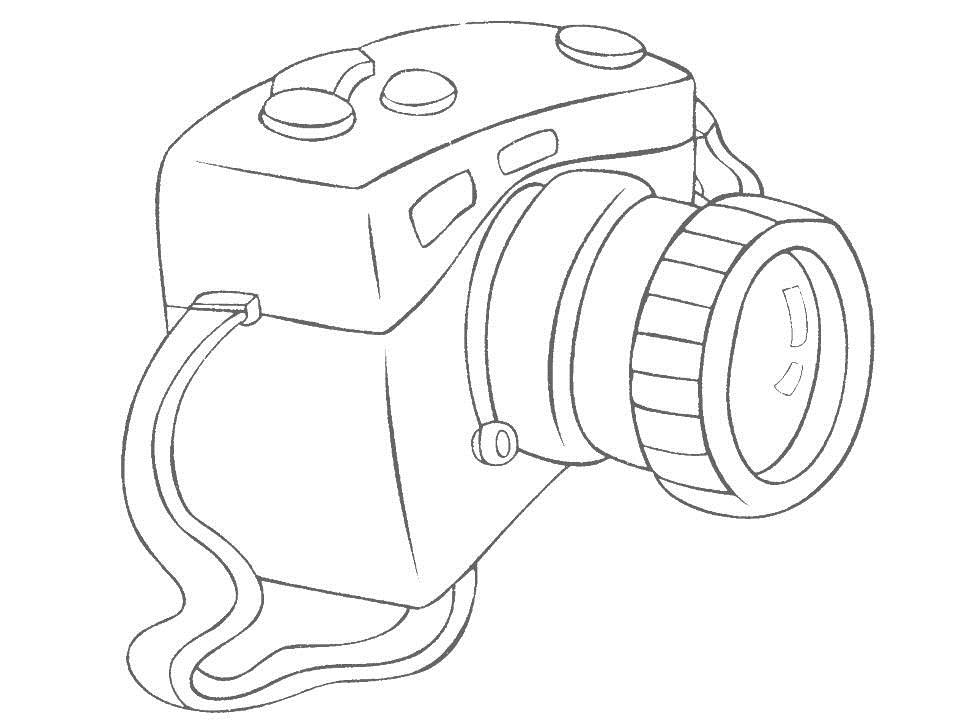 Daily Necessities coloring page for kids 14