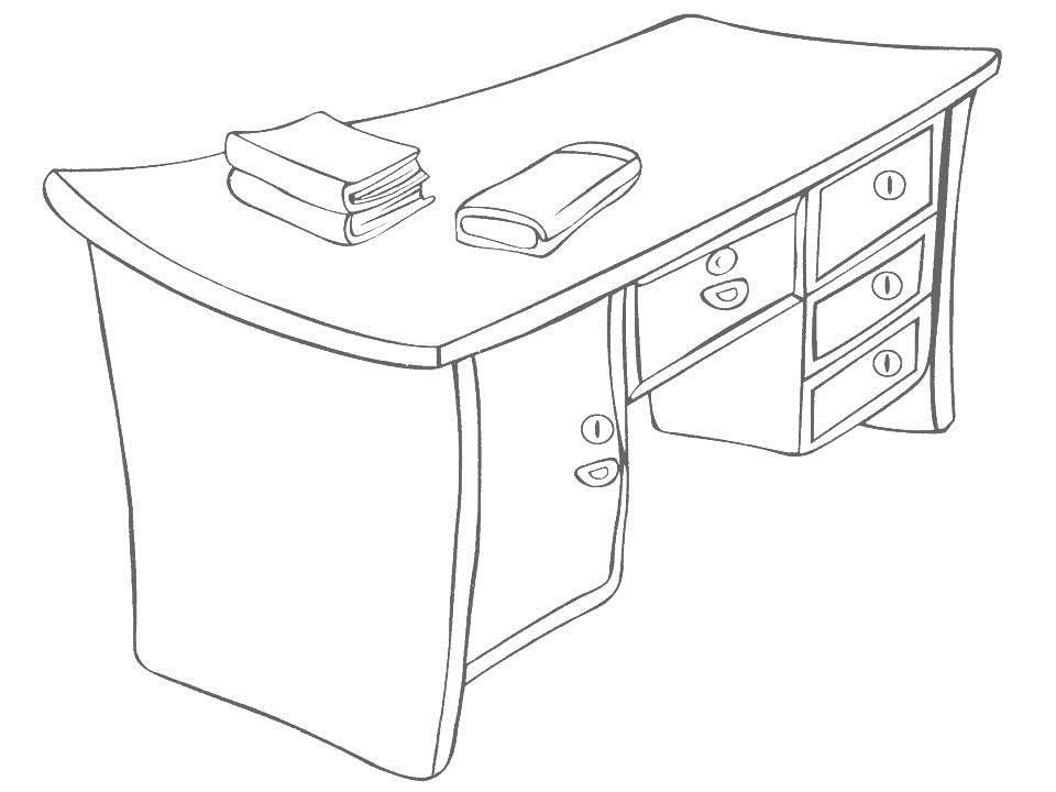 Daily Necessities coloring page for kids 15