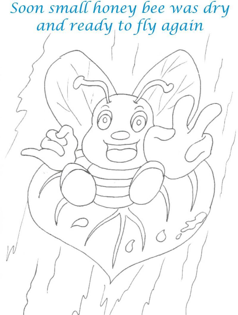 Pin Story Cartoon Bee Vector Of Bees Fun Farm Animals on
