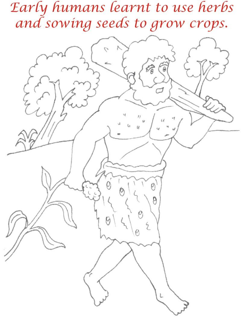 Human Evolution Coloring Pages Coloring Coloring Pages