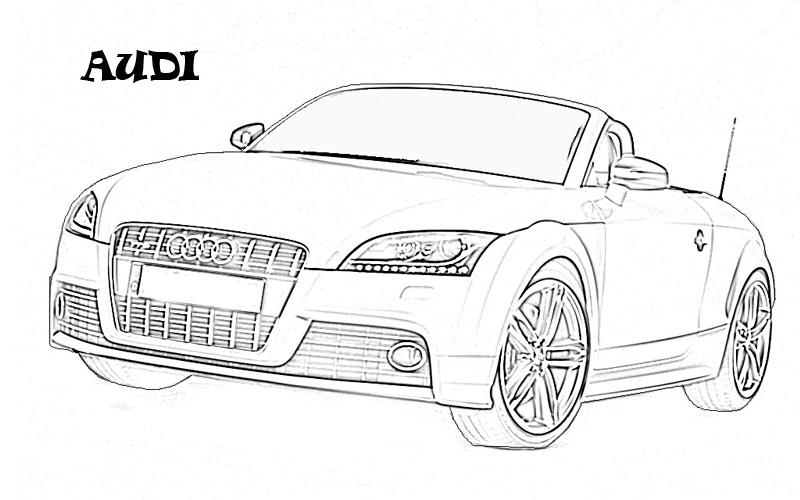 Racing Bmw Car Pictures To Color Printable Coloring Pages