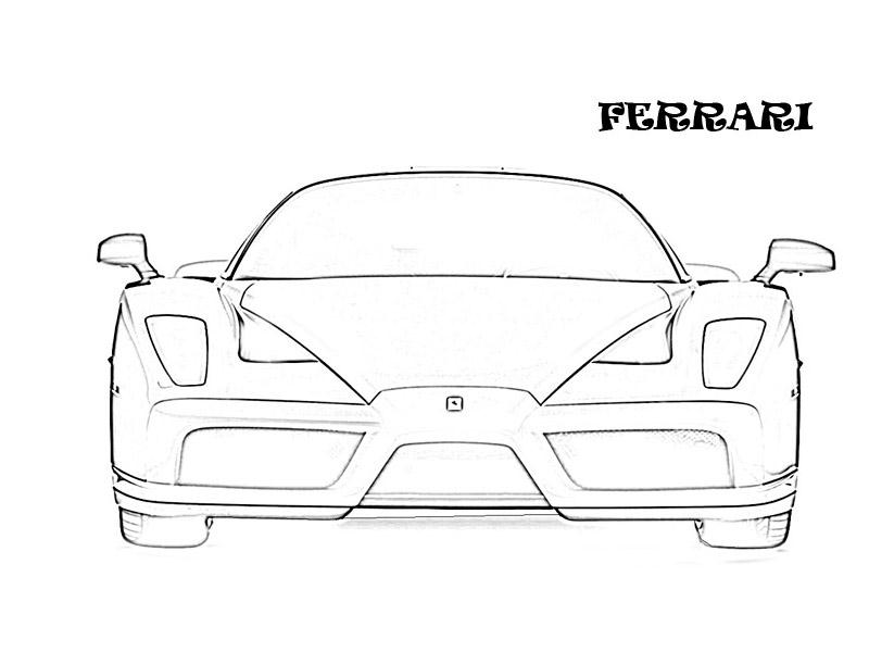 Exotic cars printable coloring page for kids 26