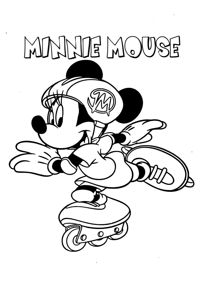 Mickey Mouse Coloring Page-6