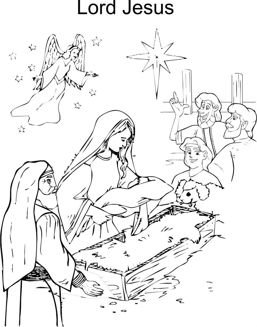 Printable Christmas worksheets and Santa Clause coloring