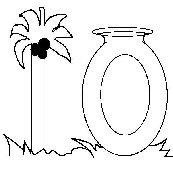Number 10 coloring printable page for kids