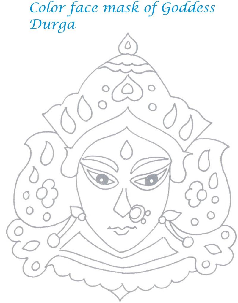 Navaratri coloring pages