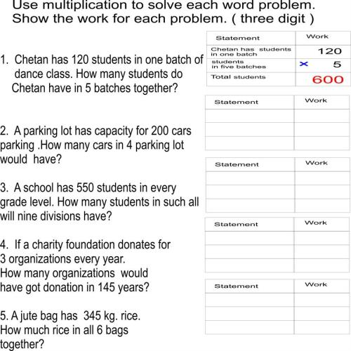 small resolution of Word problems- 3