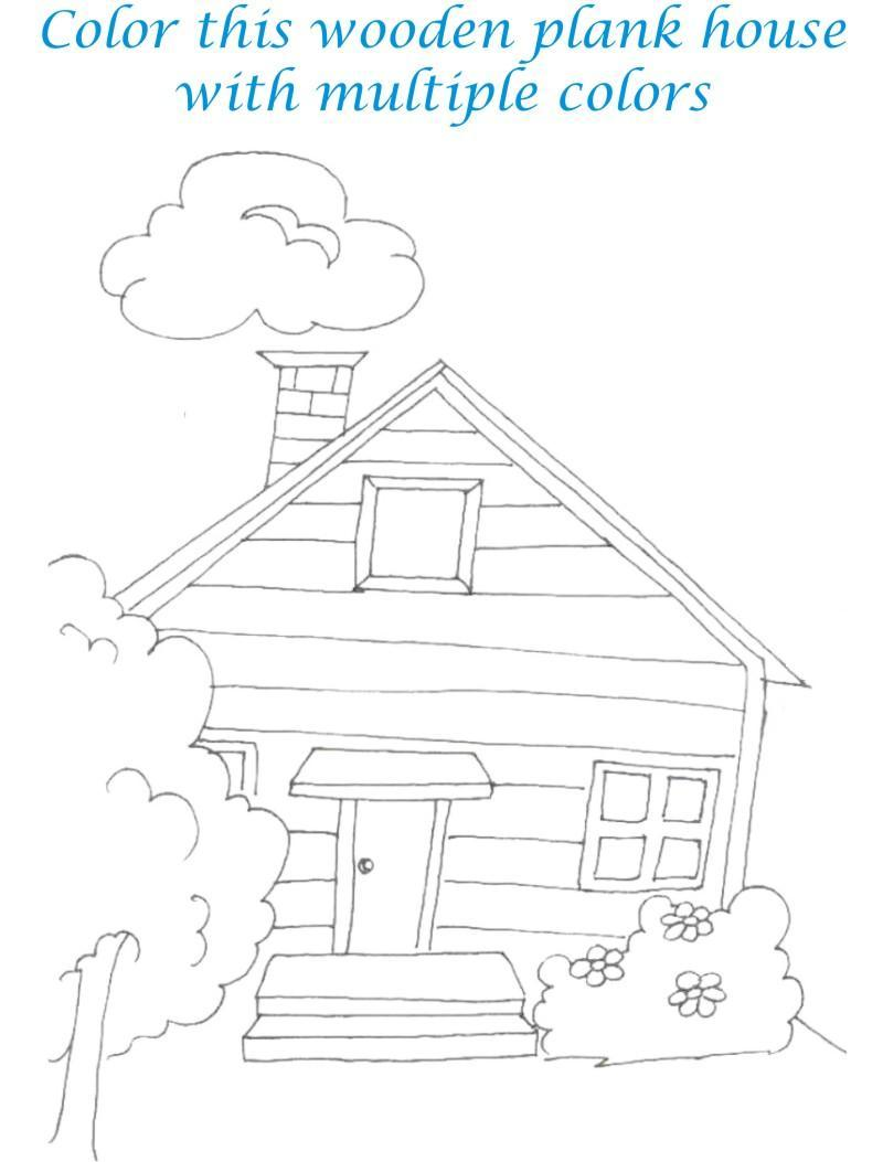 Home Sweet Home Coloring Book Coloring Pages