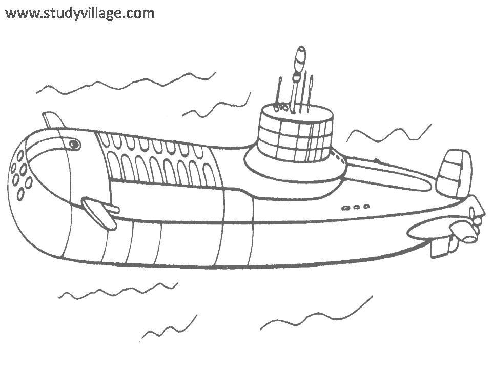 Military Weapon coloring page for kids 5