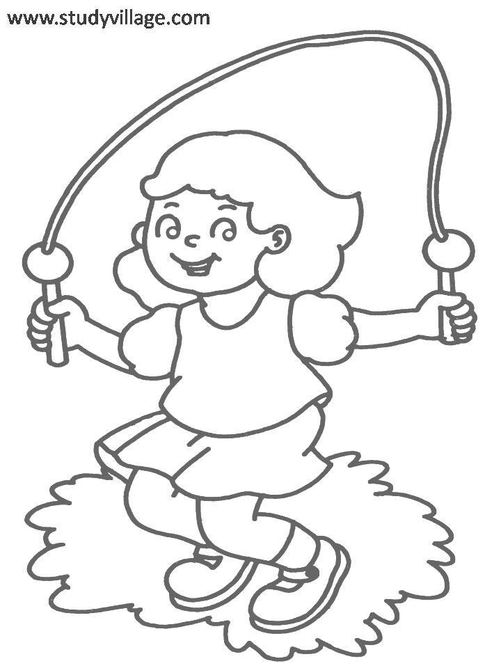 Kids Playtime coloring page for kids 4