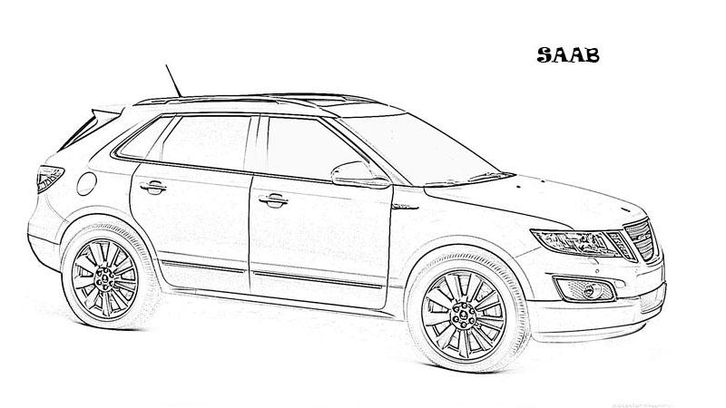 Exotic cars printable coloring pages for kids