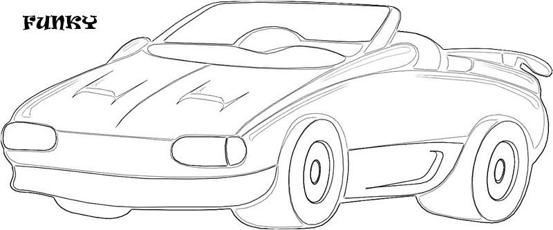 Exotic cars printable coloring page for kids 21