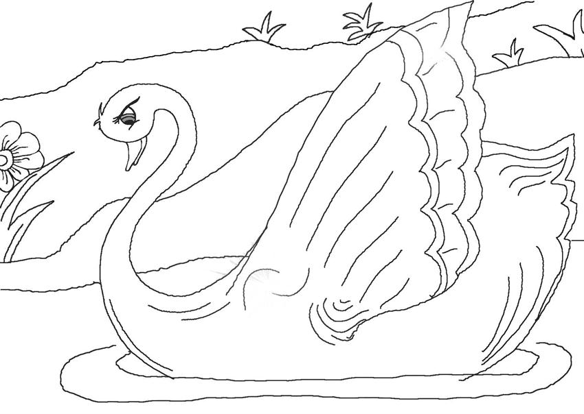 Find more: Ugly duckling colouring pages Ugly duckling