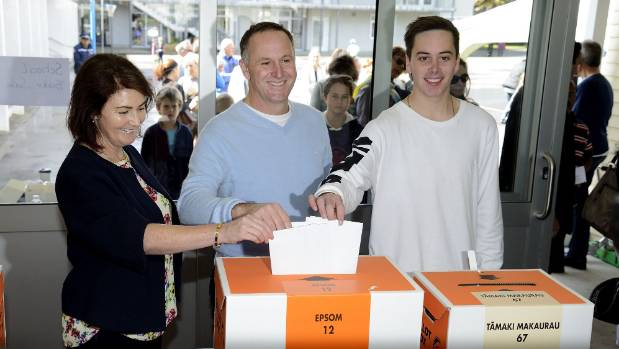 Was it really only two years ago? The Key family vote in the 2014 election.