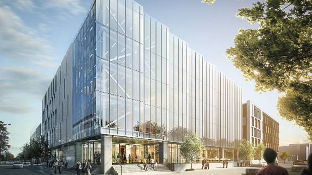 The office building to be leased by accountancy firm EY.