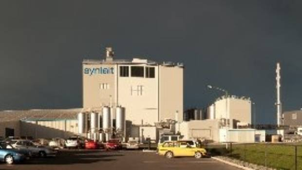 The Synlait Milk plant at Dunsandel, Canterbury.