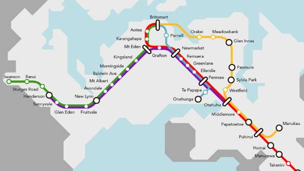 The CRL will provide a rail loop through downtown Auckland, allowing trains to go in both directions.