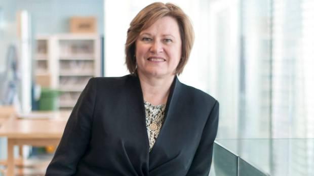 IAG New Zealand chief executive Jacki Johnson has good reason to look pleased.