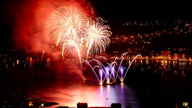 The Wellington Sky Show has been lighting up the capital's harbour since 1995.