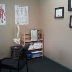 straightened office corner