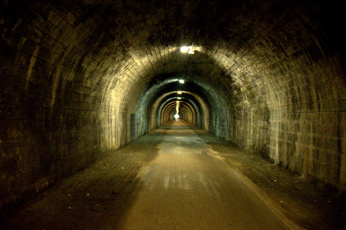 Edinburgh's Innocent Railway Tunnel