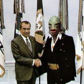 Nixon appointing his new representative of the Bureau of Narcotics and Dangerous Drugs. July 27, 1970