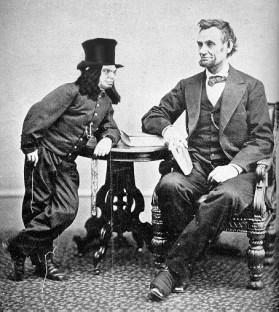 For a tall man, Abraham Lincoln was a good friend to the native Illinois leprechauns. July 24, 1860