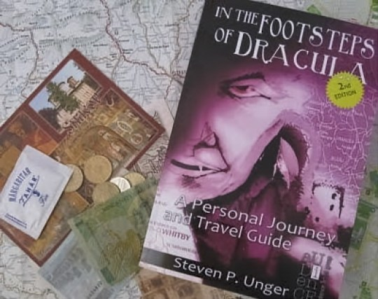 How about traveling…IN THE FOOTSTEPS OF DRACULA (book review)