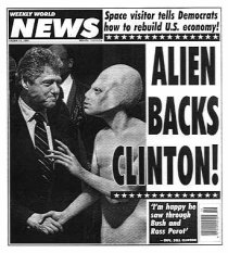 Weekly World News-Clinton