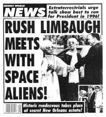 Weekly World News-Limbaugh