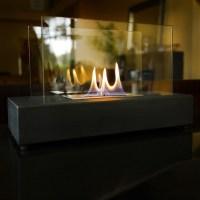 Nu-Flame Modern Glass Tabletop Fireplace