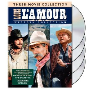 The Louis L'Amour Western Collection (Three Films) – DVD Review