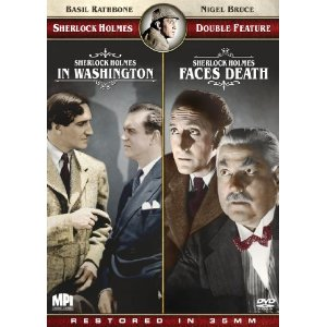 Sherlock Holmes in Washington/Sherlock Holmes Faces Death – DVD Review