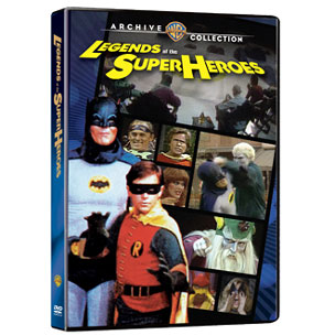 Legends of the Superheroes – DVD Review