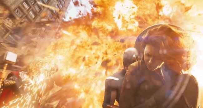 The Avengers Super Bowl trailer