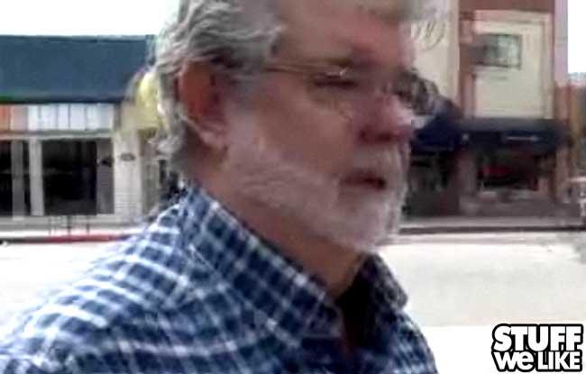 George Lucas on TMZ
