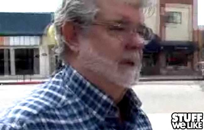 George Lucas on TMZ