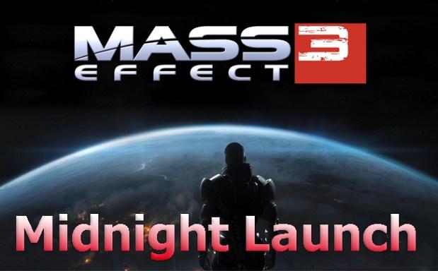 Mass Effect 3 Launch