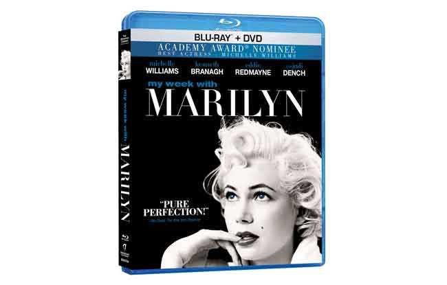 My Week With Marilyn Bluray Review