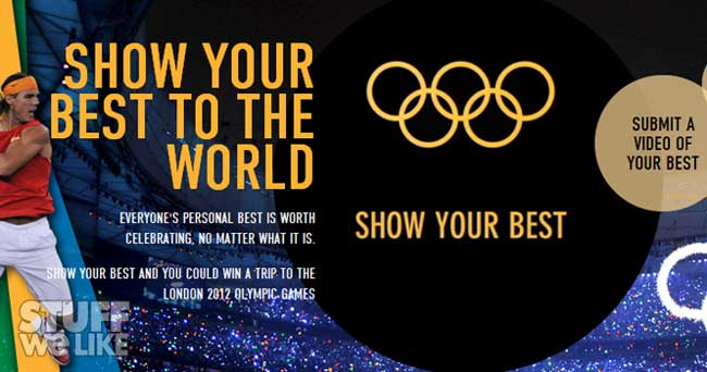 Sponsored Video: Show Your Best and win a trip to the Olympic Games