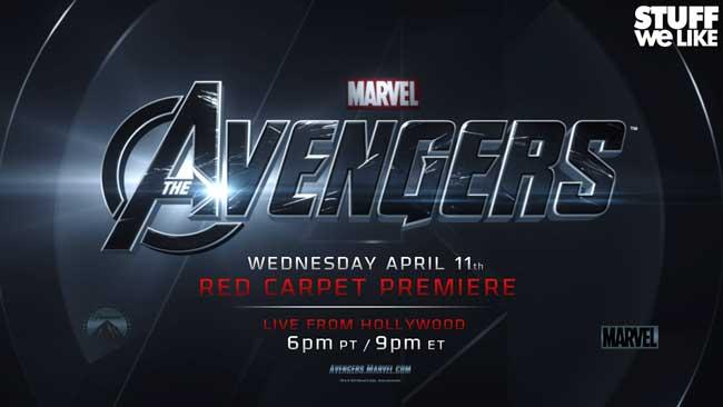 The Avengers Red Carpet