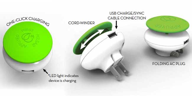 Mushroom GreenZero Wall Travel Charger Review