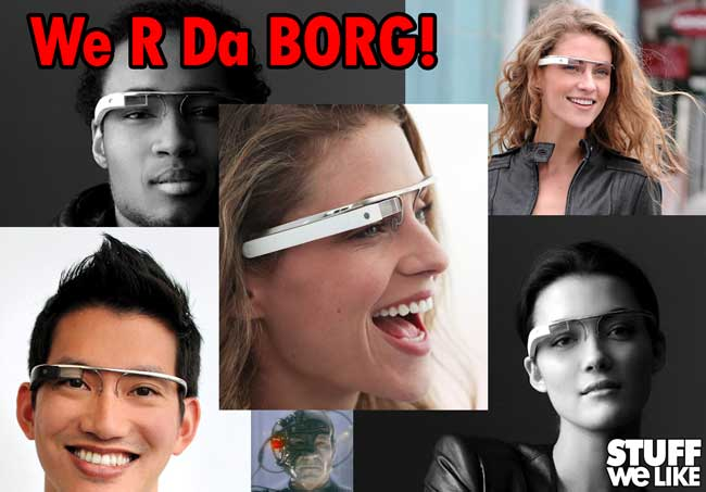 Project Glass Google Borg
