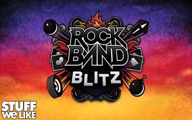 Rock Band Blitz logo