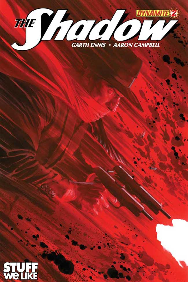 The Shadow #2 Comic Book Review