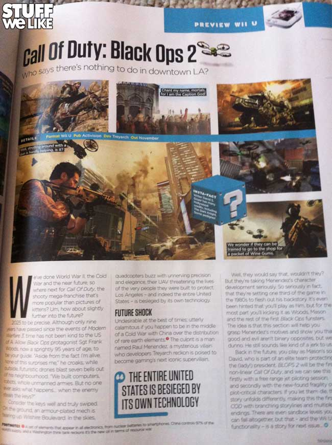 Black Ops 2 on Wii U