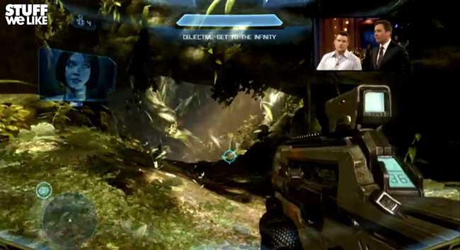 Jimmy Fallon Plays Halo 4