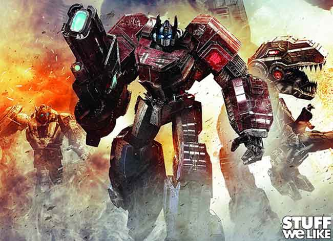 Transformers Fall of Cybertron [Walkthrough]